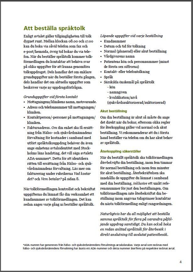 SLL språktolk 4