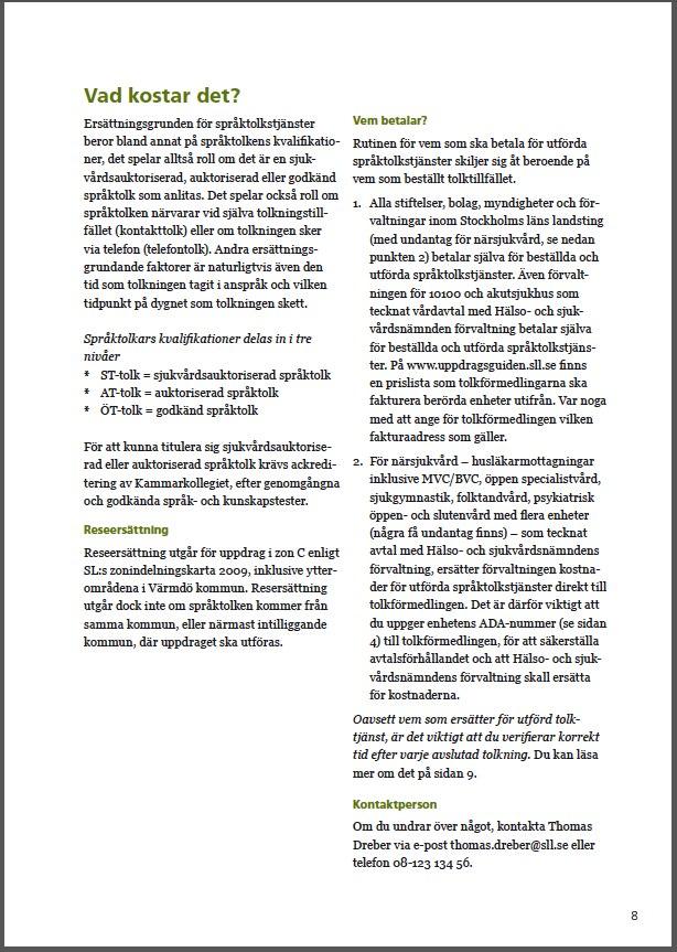 SLL språktolk 8