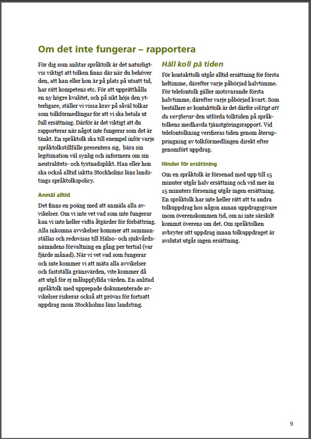 SLL språktolk 9
