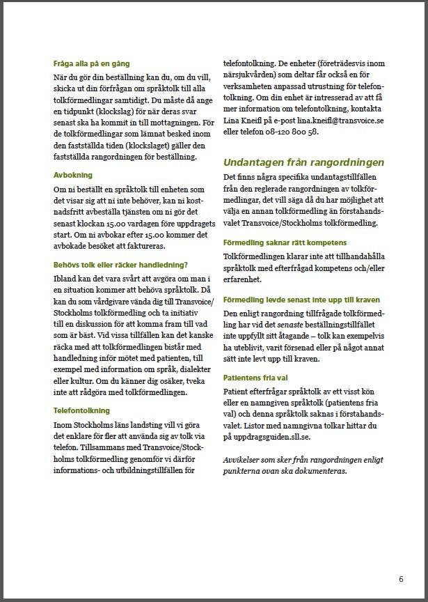 SLL språktolk 6